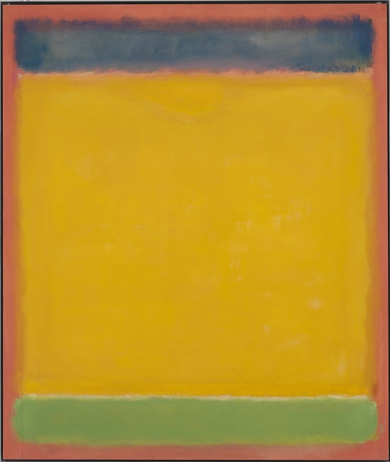 Mark Rothko (1903-1970) Untitled (Blue, Yellow, Green on Red), 1954